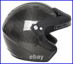 Conquer Carbon Fiber Snell SA2020 Approved Open Face Racing Helmet