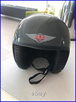 DAVIDA open face helmet. Unique One Of MORGAN Custom By DAVIDA. Rarely Used