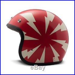 DMD Vintage Low Profile Open Face Motorcycle Helmet Bang