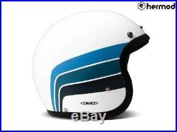 DMD Vintage Low Profile Open Face Motorcycle Helmet Olympus