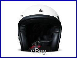 DMD Vintage Solid White weiß Gr. L Jethelm Open Face Helm Motorradhelm