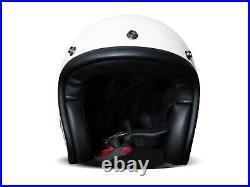 DMD Vintage Solid White weiß Gr. XL Jethelm Open Face Helm Motorradhelm