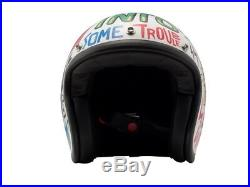 DMD Vintage Words weiß Gr. XL Jethelm Open Face Helm Motorradhelm