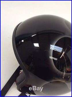Davida 92 Flames Blk/Silver Open Face Motorcycle Helmet L RRP £319