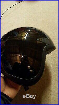 Davida Classic Open Face Motorcycle Helmet Size Large 60