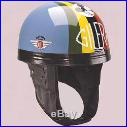 Davida Classic Racing Series Umberto Masetti Open Face Motorcycle Helmet