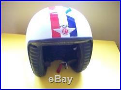 Davida Jet Open Face Helmet (L) Made In England
