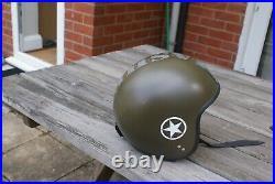 Davida Jet Open Face Motorcycle Helmet Mashed Size XL = 62 cm