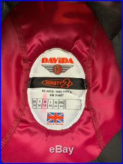 Davida'Ninety 2' Motorcycle Helmet Open Face Custom Paint