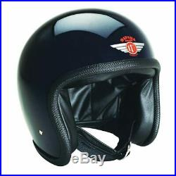 Davida Speedster V3 Open Face Motorcycle Helmet Gloss Black L RRP £299.00