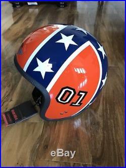 Davida Speedster open face motorcycle helmet