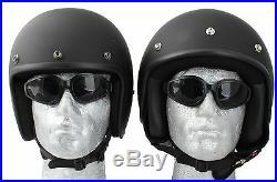 Daytona Low Profile Helmet Bombs Away Custom Open Face Bobber Chopper Biker