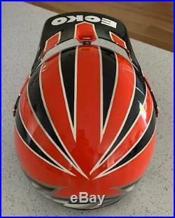 ECKO (ECHO) BMX Open Face Helmet (1990s)