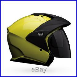 Fast Shipping Bell Mag 9 Open Face Motorcycle Helmets (Black, White, ALL)