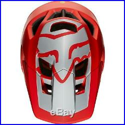 Fox Proframe Wide Open Edition Full Face Helmet Bright Red