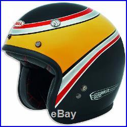 Genuine Ducati Long Beach Ece Open Face Motorcycle Crash Helmet by BELL Black