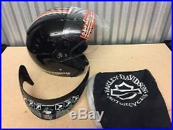 Genuine Harley-Davidson Burnout Open Face Helmet