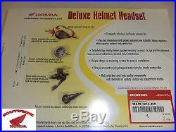 Genuine Honda Deluxe Helmet Headset Open Face Newest Version Better Sound
