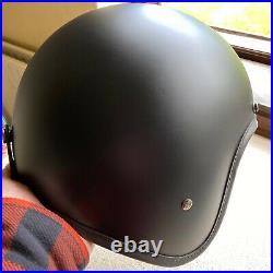 HEDON Hedonist Helmet'Matt Coal' Open Face Size Large Boxed