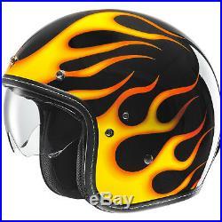 HJC FG-70S Aries Open Face Motorcycle Helmet Cruiser Motorbike Custom Jet Moped