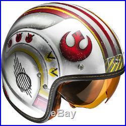 HJC FG-70S Star Wars X-Wing Rebel Fighter Open Face Motorcycle Motorbike Helmet