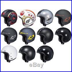 HJC IS-5 Open Face Motorcycle Street Helmet & Drop Visor DOT Pick Size & Color