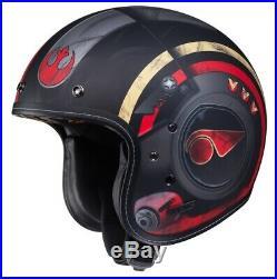 HJC IS-5 Poe Dameron Official Lucasfilm Star Wars Open-Face Motorcycle Helmet