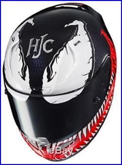 HJC RPHA 11 Pro Full Face Helmet Marvel Venom Size XL (open box)