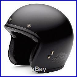 Harley Davidson Bell Genuine Retro Harley Open Face Helmet