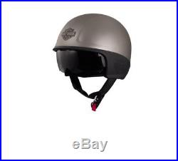 Harley-Davidson DELTON Grey SUN SHIELD 5/8 HELMET EC-97369-17E