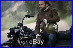 Harley Davidson Military Retro Open Face Helmet, Olive Gold, 98241-16EM, XS