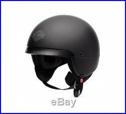 Harley-davidson Bell Open Face 5/8 Hightail B09 Helmet Matte Black Biker