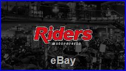 Harley-davidson Bougie Black & Gold Open Face Helmet 98174-20ex Small