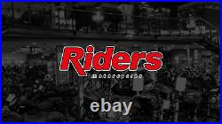 Harley-davidson Bougie Gloss Black & Gold Open Face Helmet 98174-20ex X-large