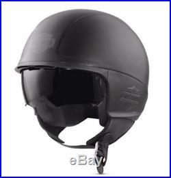 Harley-davidson Delton Sun Shield J04 5/8 Open Face Helmet 98344-17ex XL