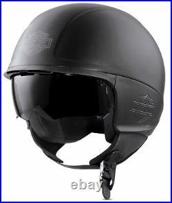 Harley-davidson Delton Sun Shield J04 Open Face Helmet 98344-17ex XL