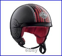 Harley-davidson Knab B09 5/8 Open Face Helmet 98351-19ex Medium