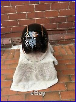 Harley davidson crash helmet open face