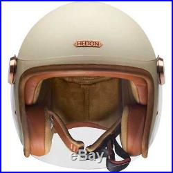 Hedon Epicurist Creme Cream Open Face Motorcycle Motorbike Scooter Jet Helmet