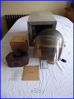 Hedon Epicurist Open Face Empire Motorcycle Helmet (size L) New & Boxed + Tags
