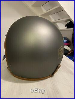 Hedon Hedonist Ash Grey Large Open Face Helmet