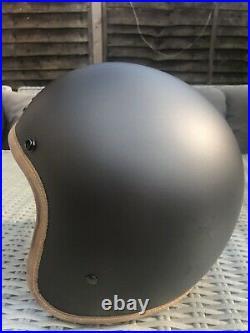 Hedon Hedonist Ash Matt (Grey) Open Face Helmet L motorcycle helmet