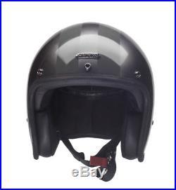 Hedon Hedonist Aston Grey Open Face Motorcycle Helmet NEW RRP £309