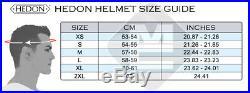 Hedon Hedonist Champagne Metallic Open Face Retro Classic Motorcycle Bike Helmet