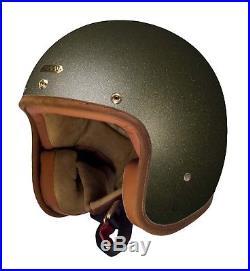 Hedon Hedonist Empire Premium open face motorcycle helmet MEDIUM