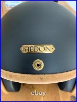 Hedon Hedonist Open Face Jet Retro Custom Cruiser Vintage Bike Motorbike Helmet