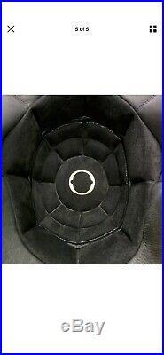 Hedon Hedonist Stable Black Open Face Retro Classic Motorbike Motorcycle Helmet