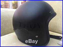 Hedon Open Face Helmet Matt Black
