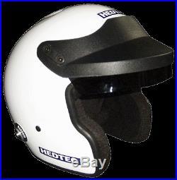 Hedtec Rapido OF-S1 HANS Open Face Motorsport Helmet FIA 8859 & Snell SA2015