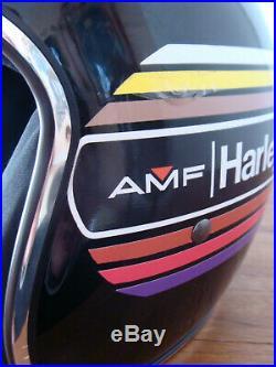Helm Harley Davidson Gr. 57-60 Einzelstück NEU Jet Open Face Helmet